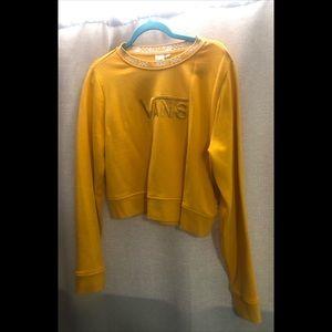 Vans yellow sweater